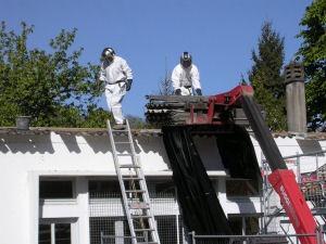 Des cosmonautes sur le toit !