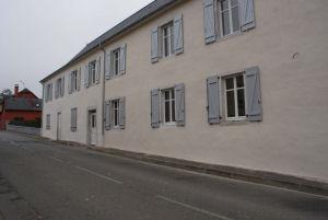 La façade côté rue