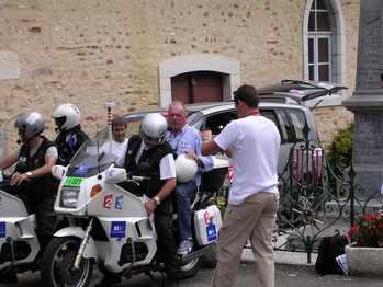 Jean-René Godard prêt à prendre son envol.
