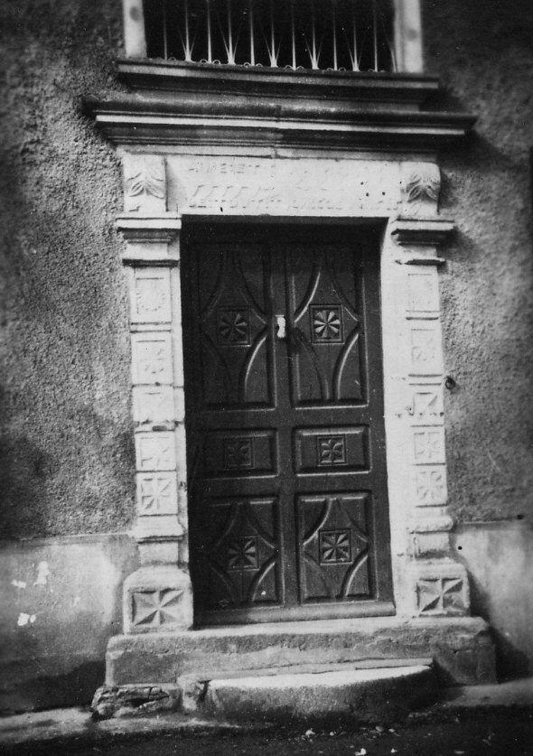 La porte du presbytère