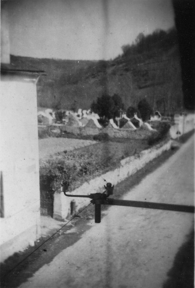 Vue générale du cimetière