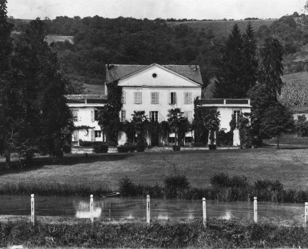 Le château de Seeger et son étang