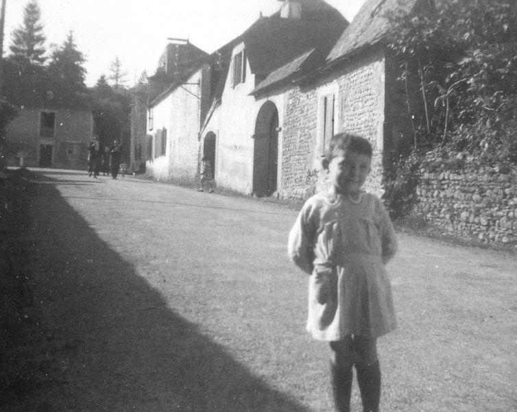 Entrée du village «Route de Monein»