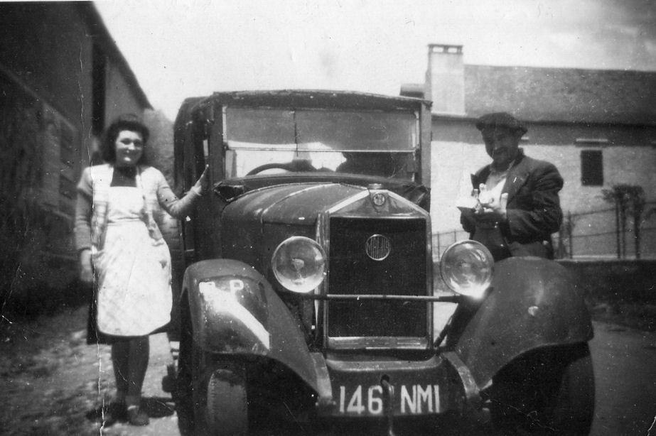 Le laitier Pislot et sa femme