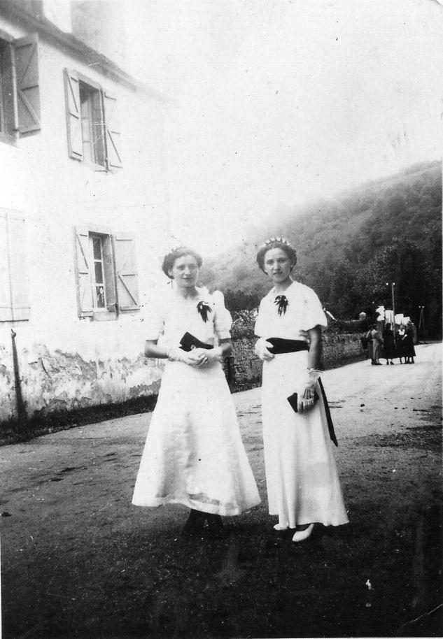Au village : mode 1950