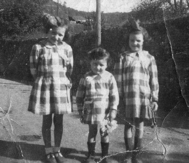 Jeanne, Henriette et Albertine Saraillé