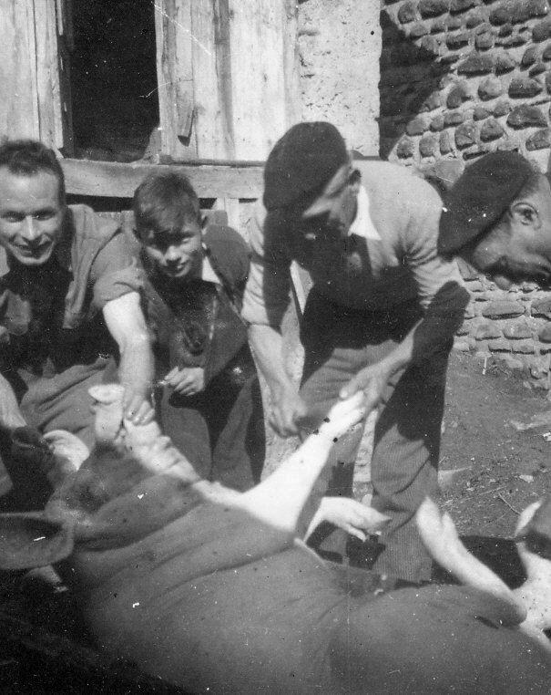 Pèle-porc : Nettoyage