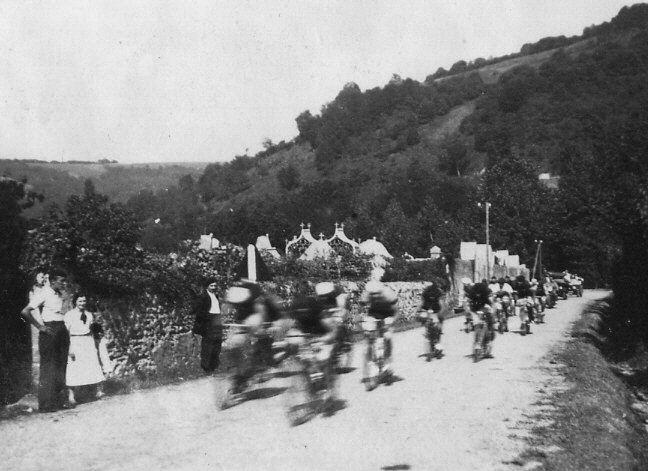 Course de vélo, le jour du 15 août