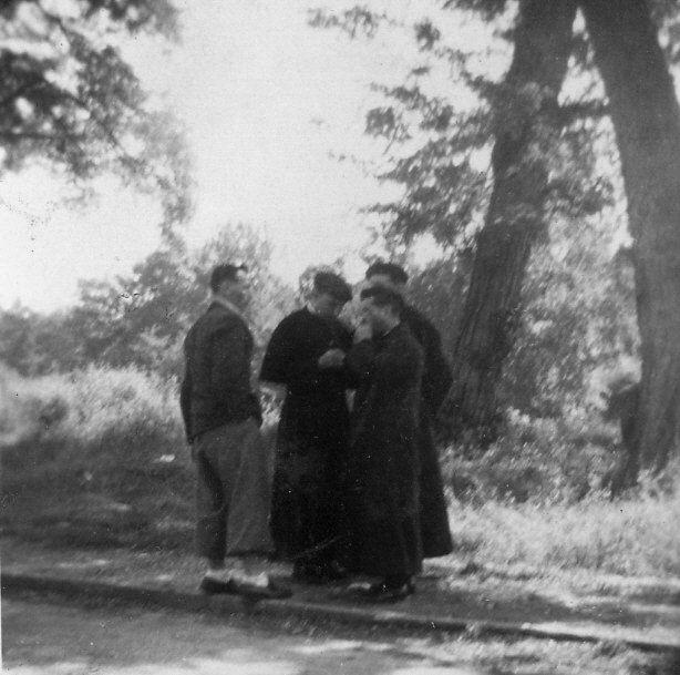 Trois curés de «Notre Cordée» : Berrotte, Latapy et Ypes