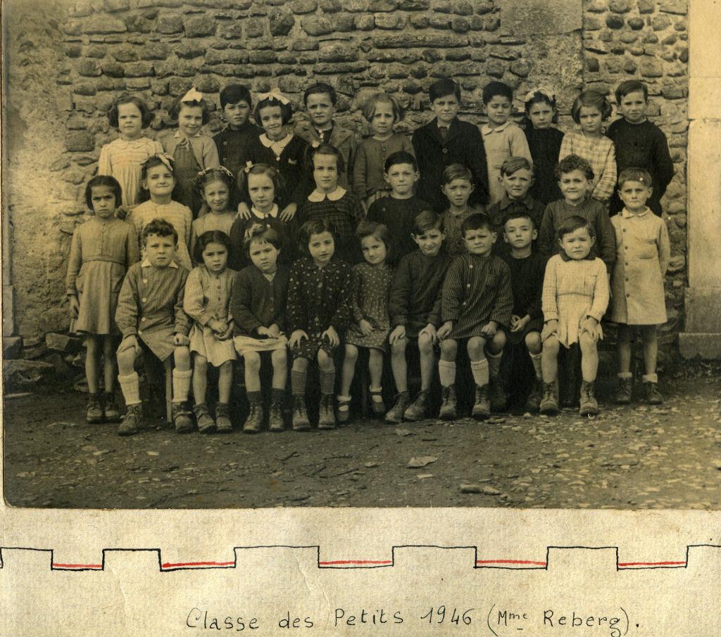 Classe des petits 1946 (Mme Reberg)
