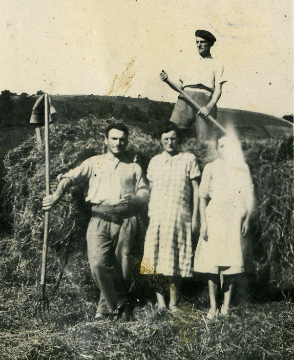 Joseph Laffargue et sa femme