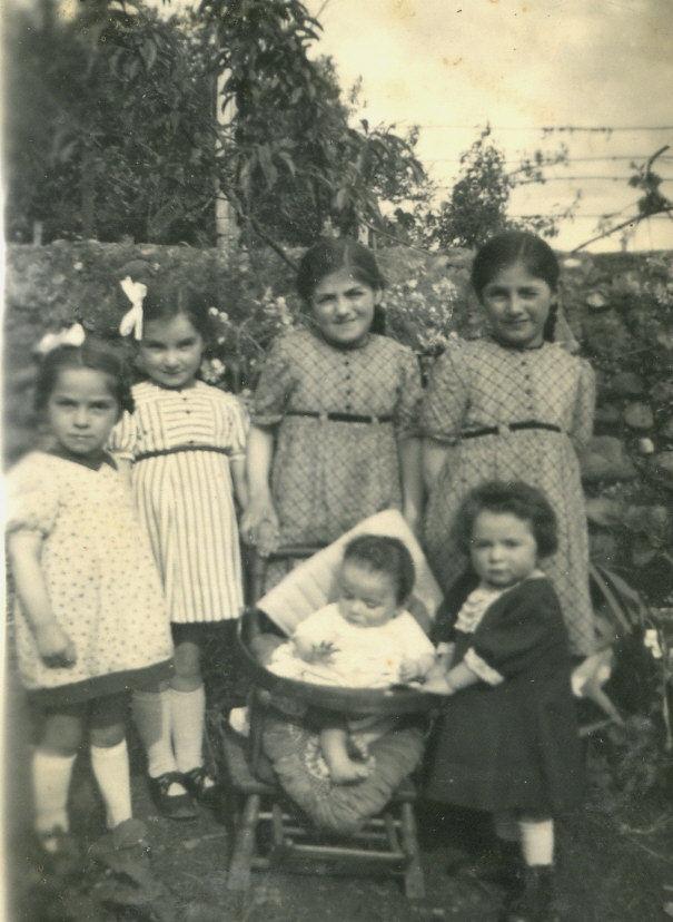 La famille Peyrette (8 enfants)