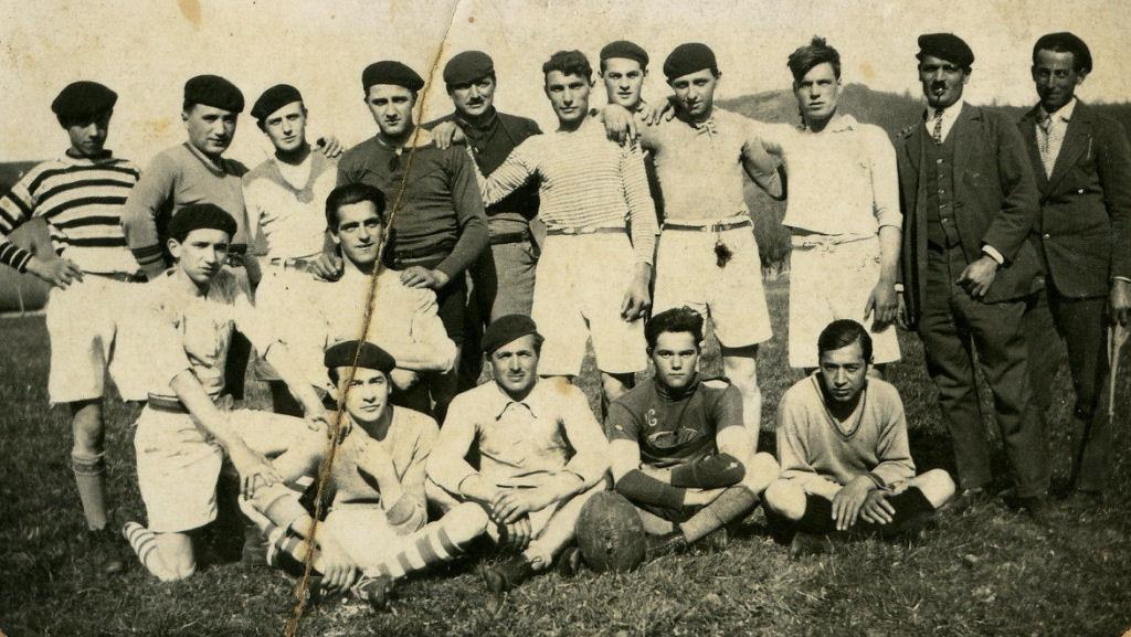 L'équipe de rugby en 1930