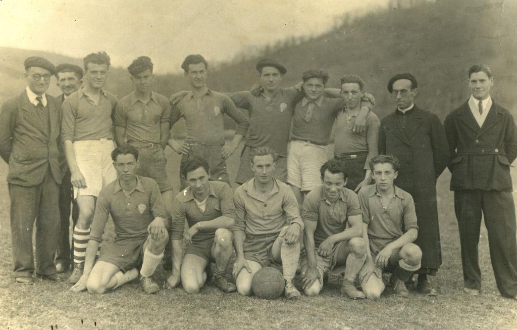 L'équipe foootball 1948 1949