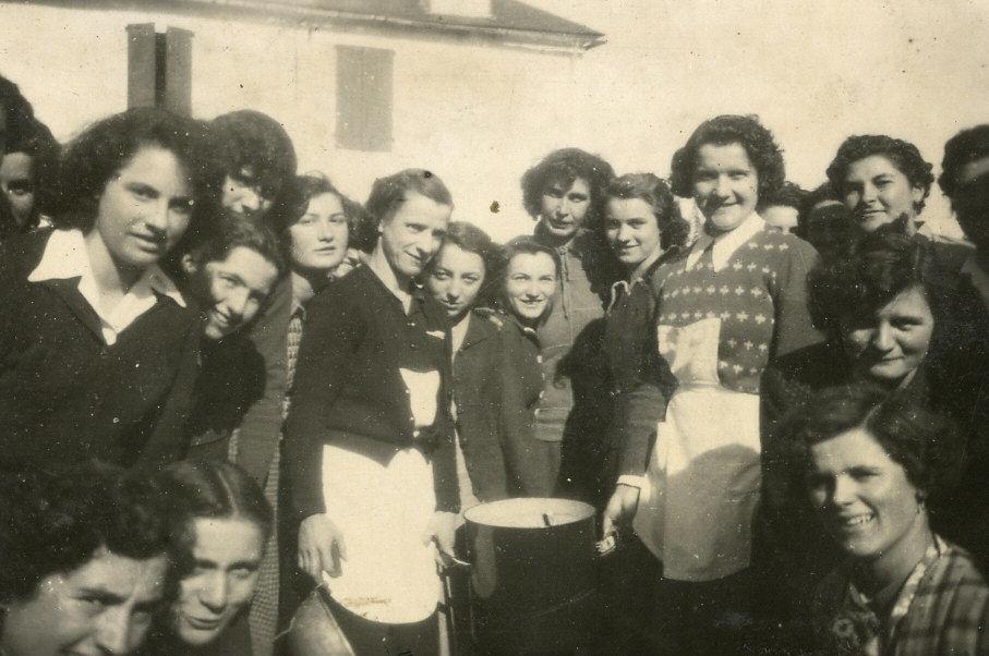 Journée rurale : le comité de Cardesse qui a préparé le dîner et la journéee